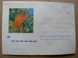 Cover From Lithuania, USSR Occupation Period, Flowers Flora 1972 776 - Lituanie