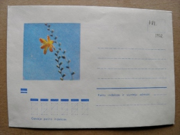 Cover From Lithuania, USSR Occupation Period, Flowers Flora 1972 781 - Lituanie