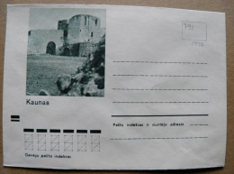 Cover From Lithuania, USSR Occupation Period, Kaunas Castle 1972 791 - Lituanie