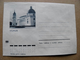 Cover From Lithuania, USSR Occupation Period, Vilnius 1972 792 - Lituanie