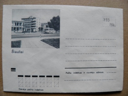 Cover From Lithuania, USSR Occupation Period, Siauliai 1972 793 - Lituanie