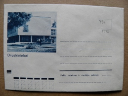 Cover From Lithuania, USSR Occupation Period, Druskininkai 1972 794 - Lituanie