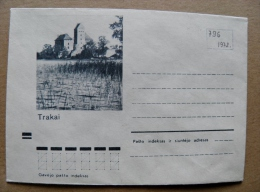 Cover From Lithuania, USSR Occupation Period, Trakai Castle 1972 796 - Lituanie