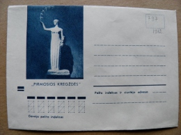 Cover From Lithuania, USSR Occupation Period, Sculpture 1972 797 - Lituanie