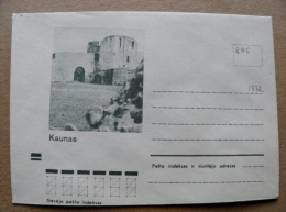 Cover From Lithuania, USSR Occupation Period, Kaunas Castle 1972 806 - Lituanie
