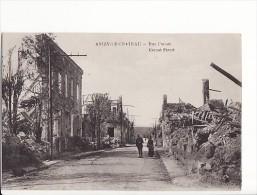 carte 1915 ANIZY LE CHATEAU / RUE CARNOT