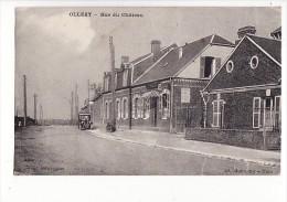carte 1920 OLLEZY / RUE DU CHATEAU