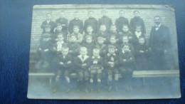 EVERE :classe De 4ème En 1912 - Evere