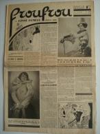 FROUFROU N°588 - Mars 1934 - Revue De Charme - 1900 - 1949