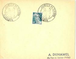 LRD3 - JOURNEE DU TIMBRE AJACCIO 23/6/1946
