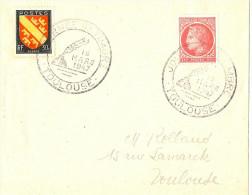 LRD3 - JOURNEE DU TIMBRE TOULOUSE 15/3/1947