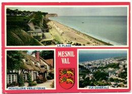 Mesnil Val - Hostellerie Vieille Ferme - Vue Générale - La Plage - Mesnil-Val