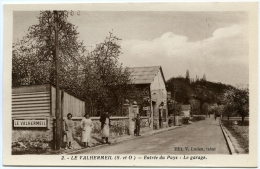 95 - LE VALHERMEIL / AUVERS SUR OISE - Entrée Du Pays - Le Garage - Auvers Sur Oise
