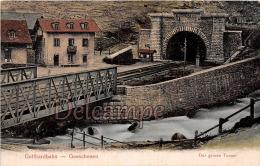 SUISSE - Gotthardbahn - Goeschenen - Der Gros Tunnel - Dos Vierge     -  2 Scans - UR Uri
