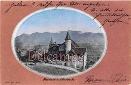 SUISSE - Weinstein ( Marbach)  - 2 Scans - SG St. Gall
