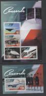 LIBERIA ,2014, MNH, CONCORDE, SHEETLET+S/SHEET - Concorde