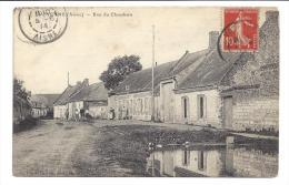 CPA 02 Voyenne rue du Chaudron