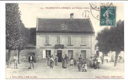 CPA 02 Villeneuve Saint Germain pr�s Soissons la place