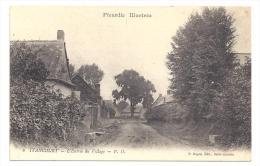 CPA 02 Itancourt l'entr�e du village