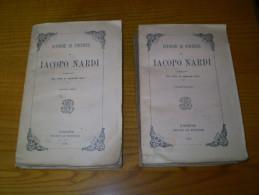 Istorie Di Firenze De Iacopo Nardi Publicate Per Cura Di Agenore Gelli . 1858 . 2 Volumes : Histoire De Florence - Livres Anciens