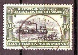 9-   CONGO BELGE   n� 63 oblit�r�