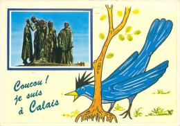 CPSM       Coucou Je Suis à Calais       P  2822 - Calais