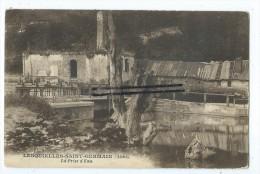 CPA -  Lesquielles Saint Germain - La prise d'eau