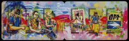 Polynésie 2014 - La Poste En Graffiti - Carnet Neuf // Mnh Booklet - Polynésie Française