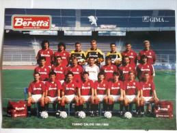 FOTO -  17/24 Del Torino Calcio 1991/92 - Firme Al Retro. - Photography