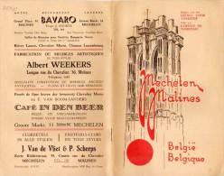 Guide Touristique - Belgique - MALINES - Plan Et  Photos (VP 710) - Livres, BD, Revues