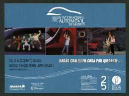Madrid. *Salón Del Automóvil 2004* Maxi-Postal: 120x160 Mms. Nueva. - Ferias