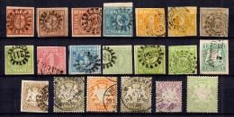 Bavi�re/Bayern belle collection d'anciens entre 1849 et 1901. Bonnes valeurs et belle qualit�. A saisir!