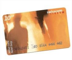 SWITZERLAND / SUISSE - Swisscom Mobile CHF 10 (present card)