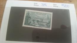 LOT 219491 TIMBRE DE FRANCE NEUF** N�394 VALEUR 100 EUROS LUXE