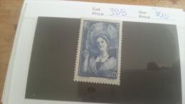 LOT 219494 TIMBRE DE FRANCE NEUF** N�388 VALEUR 10 EUROS LUXE