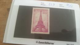 LOT 219512 TIMBRE DE FRANCE NEUF** N�429 VALEUR 17 EUROS  LUXE