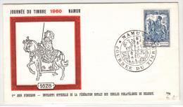 BELGIUM FDC 20/03/1960 COB 1121 JOURNEE DU TIMBRE - 1951-60