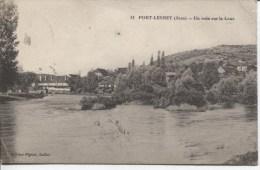 CPA - PORT LESNEY - UN COIN SUR LA LOUE - Andere Gemeenten