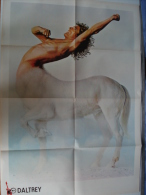 POSTER Du Magazine BEST : ROGER DALTREY (The Who) + DAVID BOWIE - Plakate & Poster