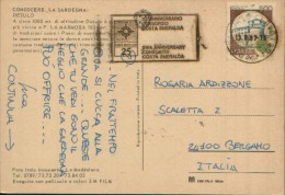 1987 25° ANNIVERSARIO CONSORZIO COSTA SMERALDA - Affrancature Meccaniche Rosse (EMA)