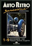 *Auto Retro Barcelona 1997* Ed. Promobil Groupe, S.C.P. Nº 14. Nueva. - Ferias