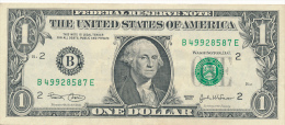 ETATS-UNIS : Billet 1 Dollar, S�rie 2003, B, B 4, B 40