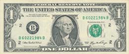 ETATS-UNIS : Billet 1 Dollar, S�rie 2006, B, F 2, F 63