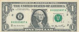 ETATS-UNIS : Billet 1 Dollar, S�rie 2006, B, H 4, H 68