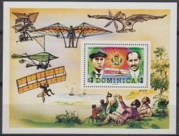 Sheet II, Dominica Sc578 Plane, Wilbur, Orville Wright, Flyer I - Avions