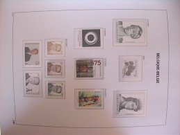 D15 Collection Belgique **  bien suivie en 5 albums DAVO avec �tui. Vente du 5eme volume de 2000 � 2006 !!!