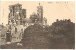 LAON: La Cath�drale (c�t� sud) en 1913