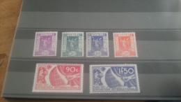 LOT 219574 TIMBRE DE FRANCE NEUF**  N�322 A 327 VALEUR 120 EUROS LUXE