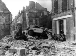 AMERICAINS EN FRANCE 1944                 RETIRAGE HAUT DE GAMME PRO - War 1939-45