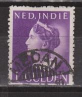Nederlands Indie Netherlands Indies 285 Used ; Koningin, Queen, Reine, Reina Wilhelmina CANCEL MEDAN 1941 - Niederländisch-Indien